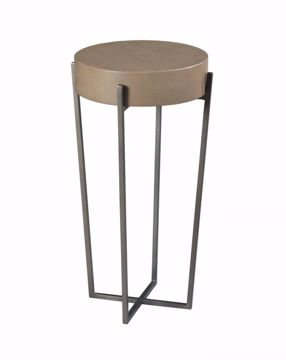 Picture of HIDDEN TREASURES ROUND ACCENT TABLE