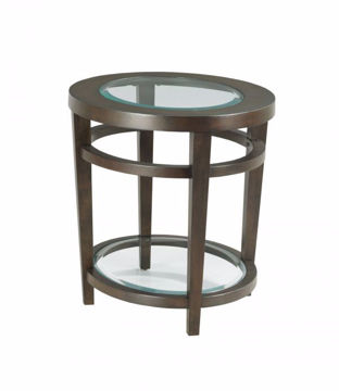 Picture of URBANA OVAL END TABLE