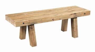 Picture of RECLAIMED WORKBENCH TABLE