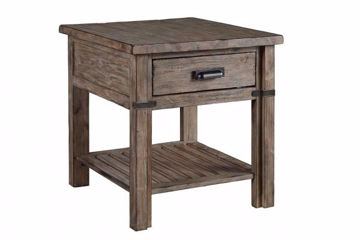 Picture of FOUNDRY DRAWER END TABLE