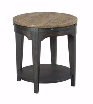 Picture of ARTISANS ROUND END TABLE