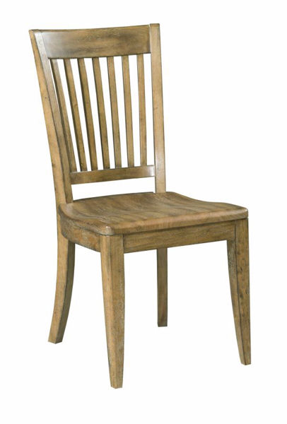 Picture of NOOK BRUSHED OAK SIDE CHAIR