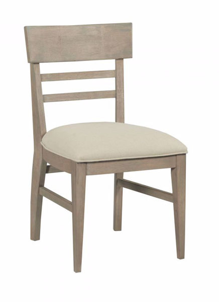 Picture of NOOK HEATHERED OAK UPHOLSTERED SIDE CHAIR