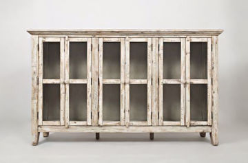 Picture of RUSTIC SHORES ACCENT CABINET