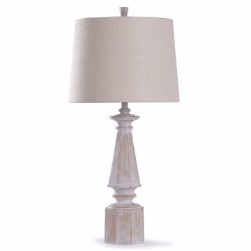 Picture of CAINE CREAM TABLE LAMP