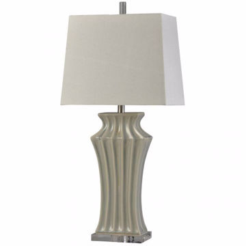 Picture of KIPLING GREY TABLE LAMP