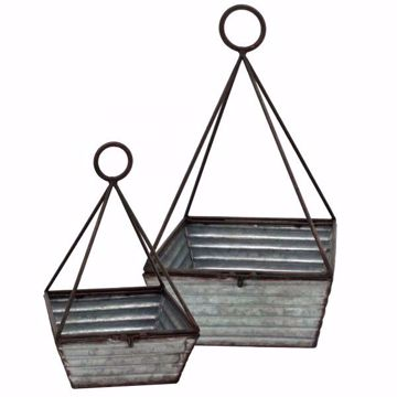 Picture of SET OF 2 METAL BASKETS