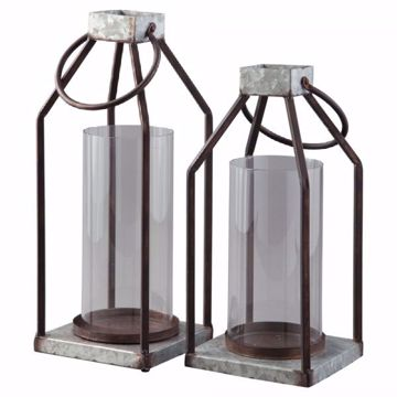 Picture of LANTERN SET OF 2