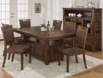 Picture of CANNON VALLEY TABLE AND 6 CHAIRS