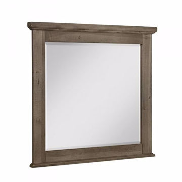Picture of COOL RUSTIC LANDSCAPE MIRROR (STONE GREY)