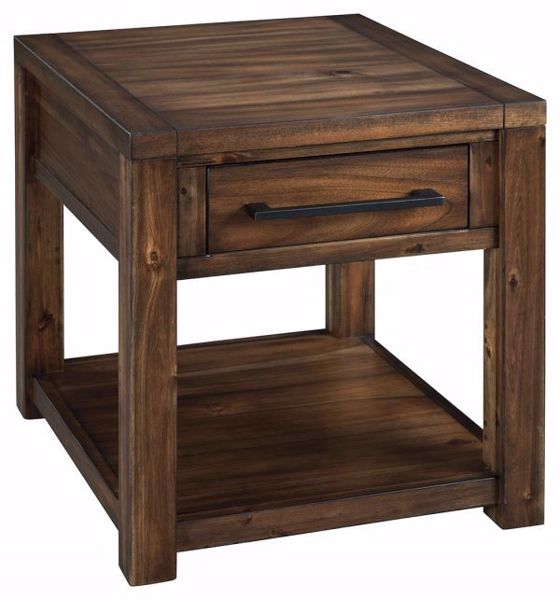 Picture of MARLEZA RECTANGULAR END TABLE