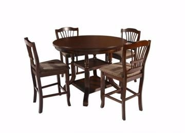 Picture of COUNTER TABLE & 4 STOOLS