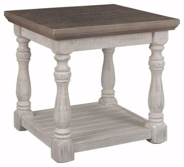 Picture of HAVALANCE RECTANGULAR END TABLE