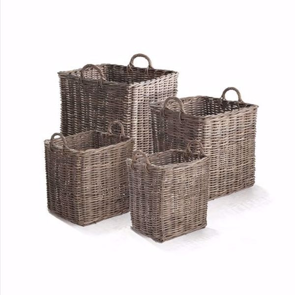 Picture of NORMANDY SQUARE APPLE BASKETS, SET OF 4