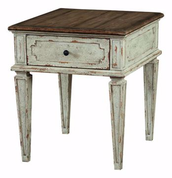 Picture of BASSETT VERONA CHAIRSIDE TABLE
