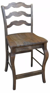 Picture of BASSETT BENCH*MADE MAPLE GREYSON COUNTER STOOL
