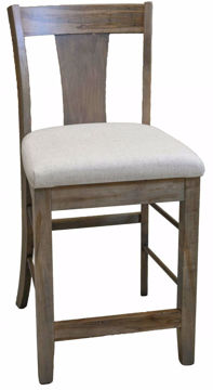 Picture of BASSETT BENCH*MADE MAPLE BOONE COUNTER STOOL