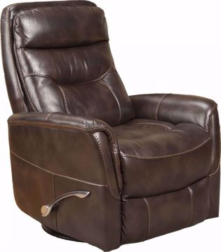 Picture of GEMINI TRUFFLE SWIVEL RECLINER