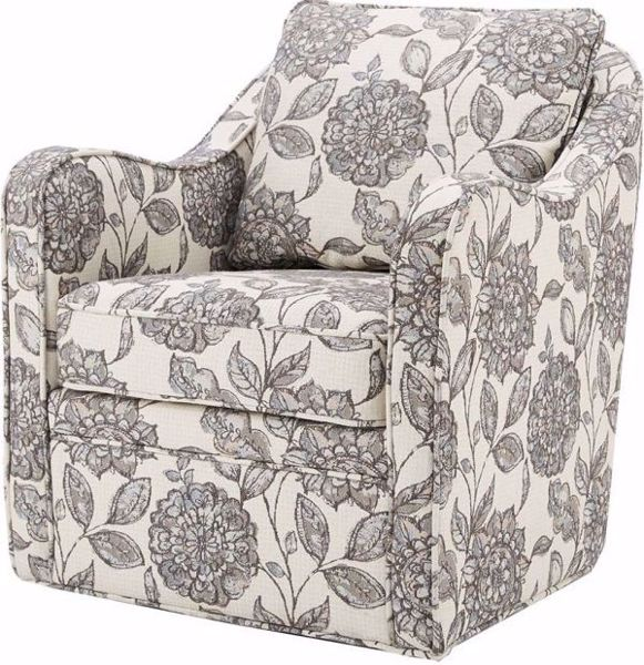 Picture of BRIANNE SWIVEL ARM CHAIR