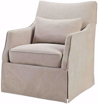 Picture of LONDON SKIRTED SWIVEL CHAIR