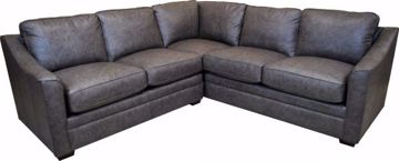 Picture of CUSTOMIZABLE LEATHER SECTIONAL