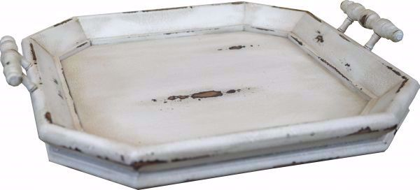 Picture of VICTORIAN OCTAGONAL TRAY