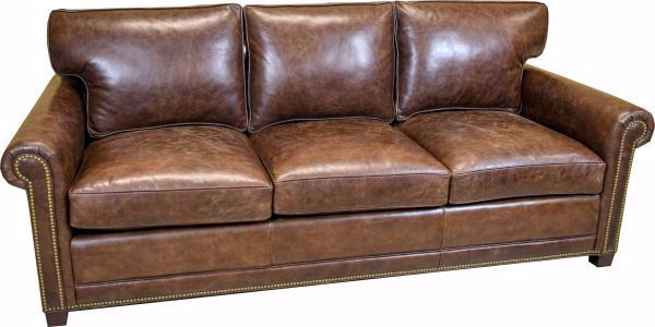 Picture of HANCOCK & MOORE YOUR WAY LEATHER SOFA
