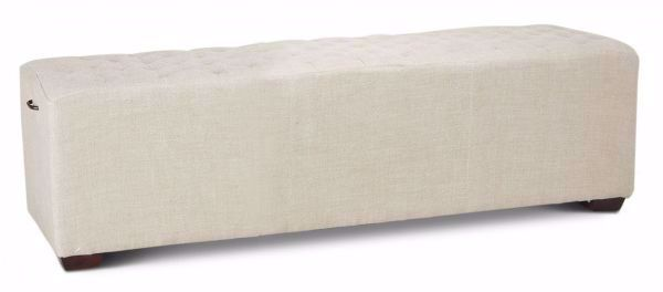 Picture of D'ORSAY LINEN BENCH