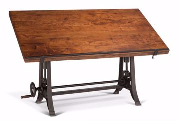 Picture of INDUSTRIAL LOFT DRAFTING DESK