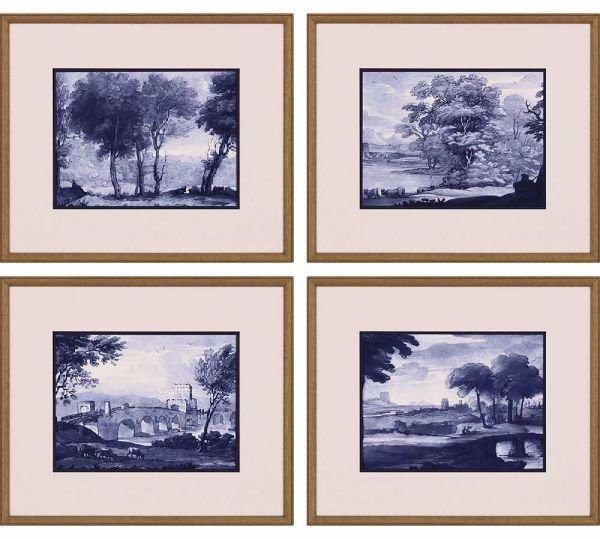 Picture of PASTORAL TOILE (SET OF 4)