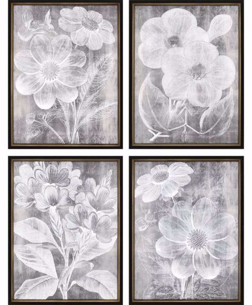Picture of CHALKY FLORAL (SET OF 4)