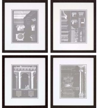 Picture of ARCHITECTURAL I (SET OF 4)