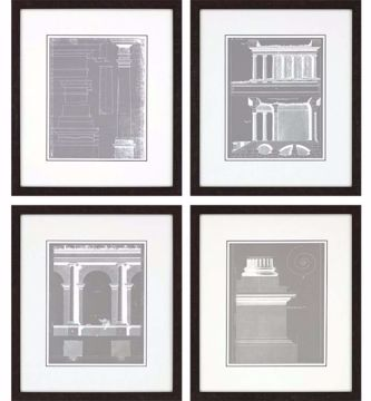 Picture of ARCHITECTURAL II (SET OF 4)