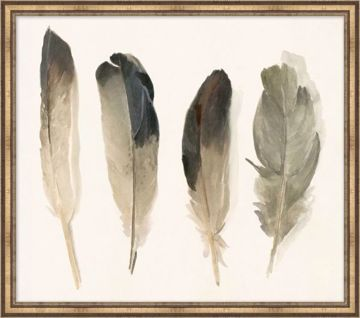 Picture of MUTED FEATHERS 3