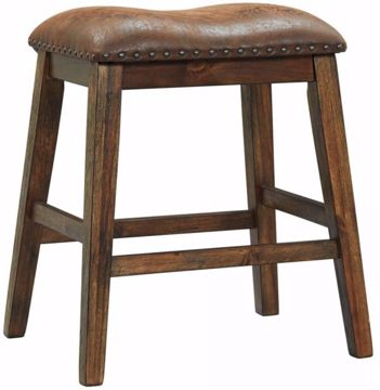 Picture of CHALENY UPHOLSTERED STOOL