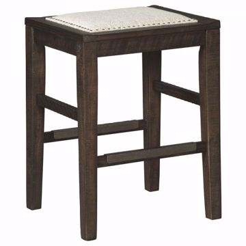 Picture of HALLISHAW UPHOLSTERED STOOL