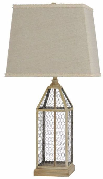 Picture of METAL CAGE LAMP