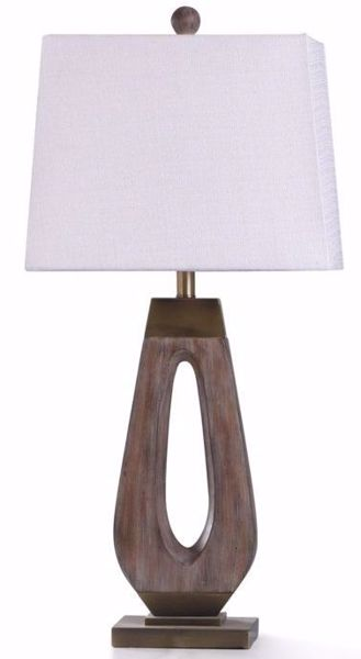 Picture of GRIFO GOLD TABLE LAMP