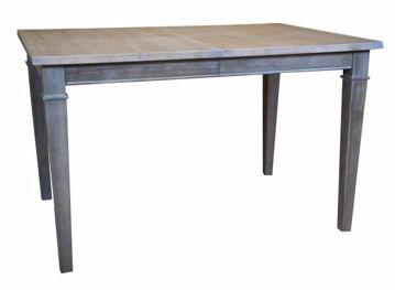"""Picture of BASSETT 42"""" RECTANGULAR TABLE"""