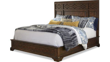 Picture of MEMPHIS COMPLETE QUEEN PANEL BED