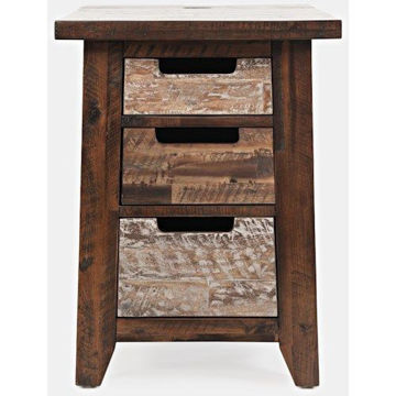 Picture of PAINTED CANYON CHAIRSIDE TABLE