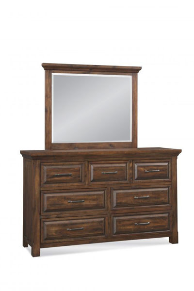 Picture of HILL CREST DRAWER DRESSER