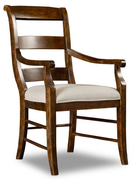 Picture of ARCHIVIST LADDER BACK ARM CHAIRS