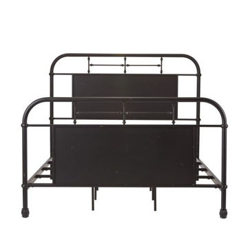 Picture of VINTAGE SERIES KING METAL BED (BLACK)