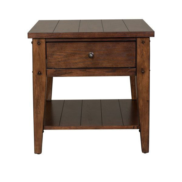 Picture of LAKE HOUSE END TABLE