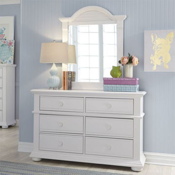 Picture of SUMMER HOUSE DRESSER & MIRROR