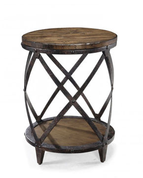 Picture of PINEBROOK ROUND ACCENT TABLE