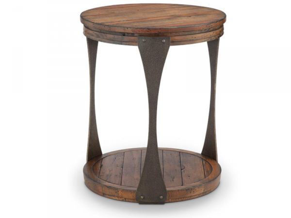 Picture of MONTGOMERY ROUND END TABLE