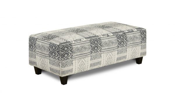 Picture of TOCA MADERA SLATE OTTOMAN