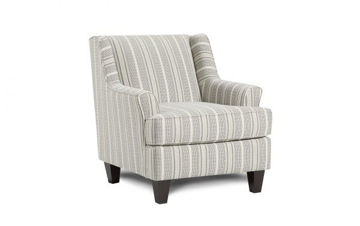 Picture of FARMHOUSE INDIGO ACCENT CHAIR